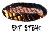 Eat Steak Photo Shirt-0118