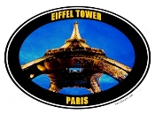 Eiffel Tower Photo Shirt - 9701